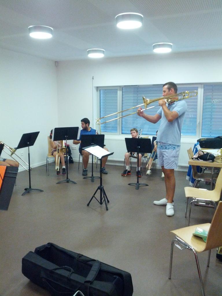 Académie musicale de trombone de Baldersheim 2012